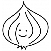 Onion Doodle Template