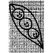 Peas Doodle Template