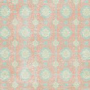 Sweet Dreams- Damask Paper- Blue