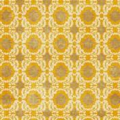 Sweet Dreams- Damask Paper- Mustard