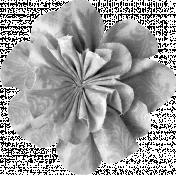Fabric Flower Template 002