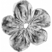 Fabric Flower Template 003