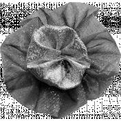 Ribbon Flower Template 001