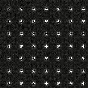 Flower Dots Overlay