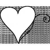 Heart Doodle 005