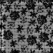 Snowflake Overlay Template 001