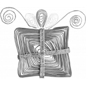 Paper Art Present Template 001