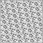 Layered Cutout Heart Template
