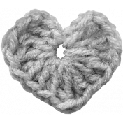 Crochet Heart Template 01