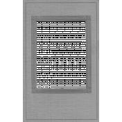 Vintage Paper Frame Template 002