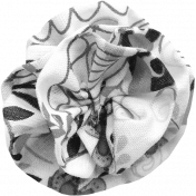 Fabric Flower Template 031