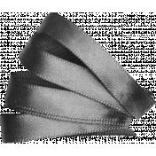 Ribbon Leaf Template 03