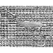 Stork Scissors Template