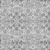 Floral End Paper Texture 02