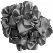 Ribbon Flower Template 006