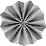 Accordion Paper Flower Template 009