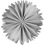Accordion Paper Flower Template 011