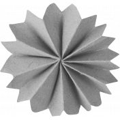 Accordion Paper Flower Template 007