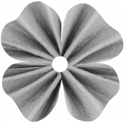 Clover Accordion Flower Template 004