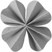Clover Accordion Flower Template 002