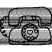 Office Doodle Template 004