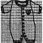 Romper Doodle Template 03