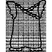 Romper Doodle Template 02