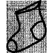 Sock Doodle Template 01