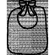 Bib Doodle Template 01