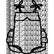 Romper doodle Template 01
