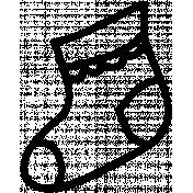 Sock Doodle Template 02