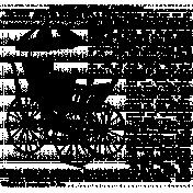 Vintage Advertisement Stamp 001