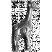 Giraffe Bead Template
