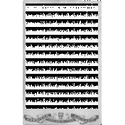 Vintage Paper Frame Template 005