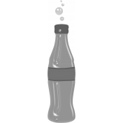 Layered Bottle Template 01