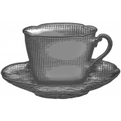 Layered Template- Tea Cup and Saucer
