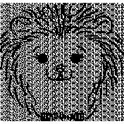 Hedgehog Doodle Template 01