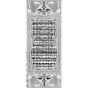 Vintage Paper Frame 005