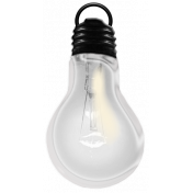 Layered Lightbulb Template 01