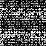 Leaf Doodle Paper Template