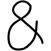Ampersand Doodle Template