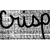 Crisp Doodle Template