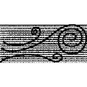 Swirl Doodle Template 016