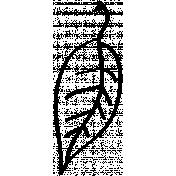 Leaf Doodle Template 1