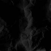 Paper Wrinkled Black