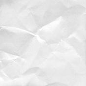 Paper Wrinkled White