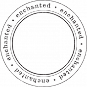 Enchanted- Enchanted Circle Stamp