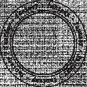 Enchanted- Fantasy Circle Stamp