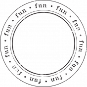 Enchanted- Fun Circle Stamp