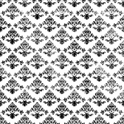 Damask 002 Distressed Template